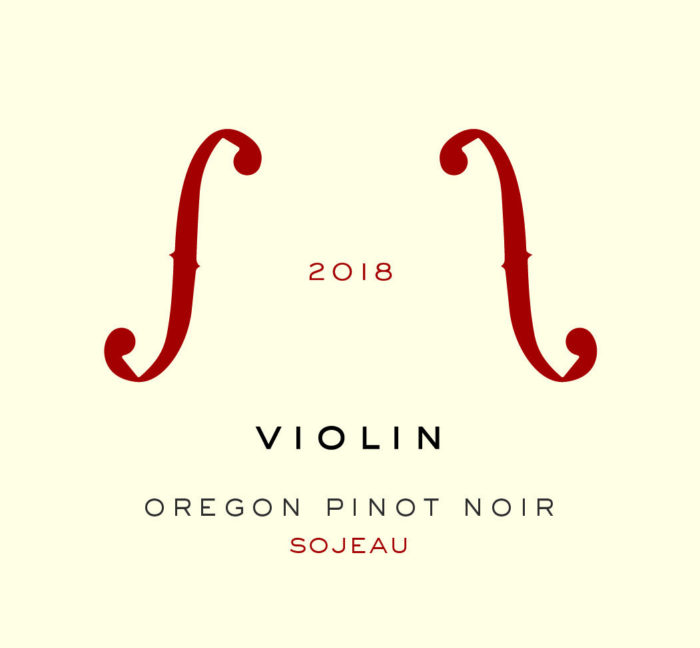 2018 Sojeau Vineyard Pinot Noir [label]